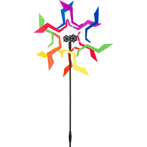 DESIGN LINE WINDMILL CRAZY RAINBOW