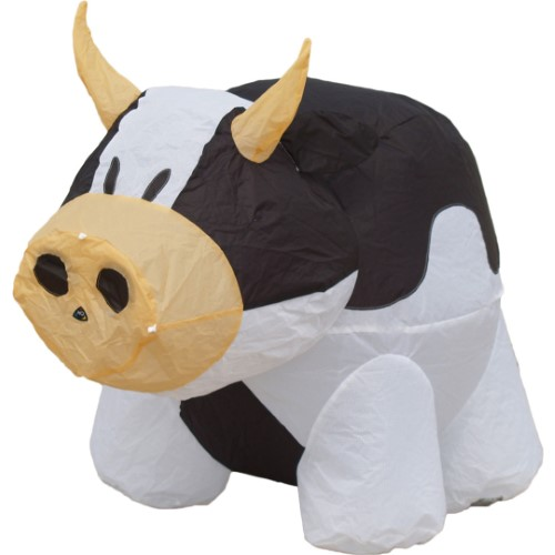 BOUNCING BUDDY 'COW' BLACK
