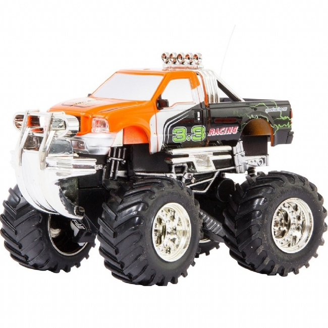 RC MINI OFF-ROAD TRUCK ORANGE