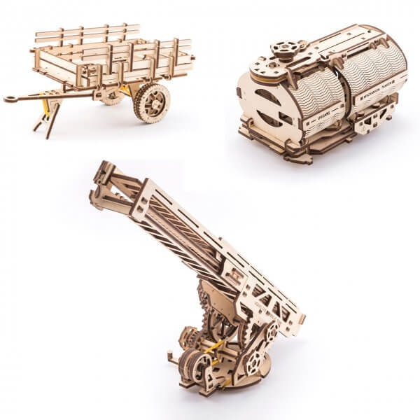 UGEARS:  TRUCK CHASSIS