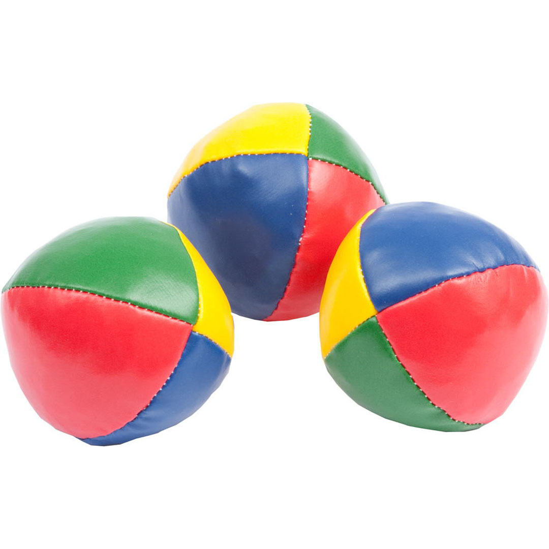 JUGGLING BALLS 3 SET BEAN BAGS