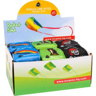 POCKET SLED DISPLAY (assorted designs: 24 pcs)