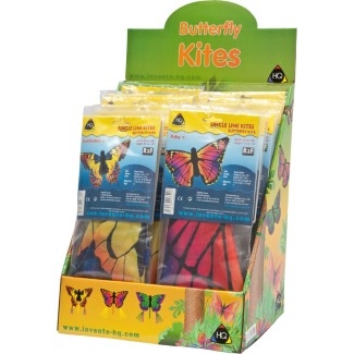BUTTERFLY 'R' DISPLAY (assorted designs 18pcs)