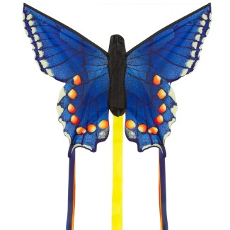 BUTTERFLY KITE SWALLOWTAIL BLUE 'R'