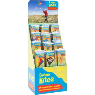 "FLOOR DISPLAY ""ECO LINE"" 36 asstd. kites"