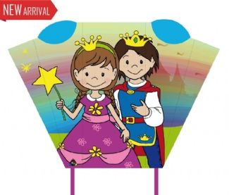 "MAGIC POCKET SLED ""PRINCE & PRINCESS"""