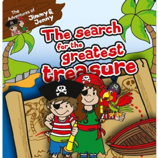 PIRATE PICTURE BOOK:  SEARCH FOR THE GREATEST TREASURE!