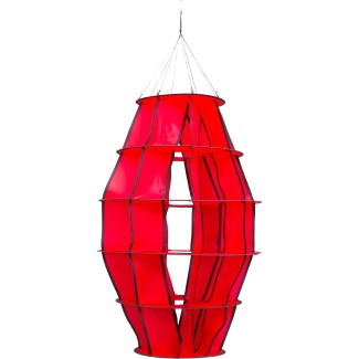 "HOFFMANNS LAMPION ""S"" RED"