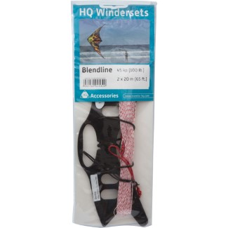 HQ-WINDERSET BLENDLINE 45kp (100LB) 2x20m (65ft)