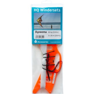 HQ WINDERSET DYNEEMA 100kp (220lb) 2x35m (115ft)