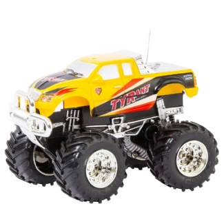 RC MINI OFF-ROAD TRUCK YELLOW