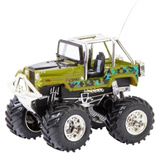 RC MINI OFF-ROAD TRUCK GREEN