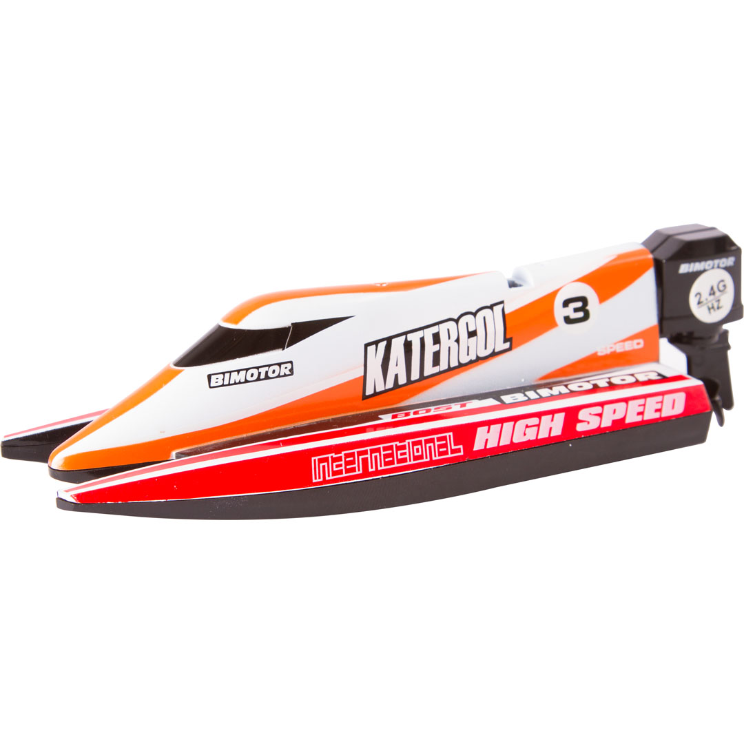 "RC MINI RACE BOAT ""RED"""