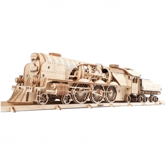 UGEARS:  V EXPRESS STEAM TRAIN WITH TENDER