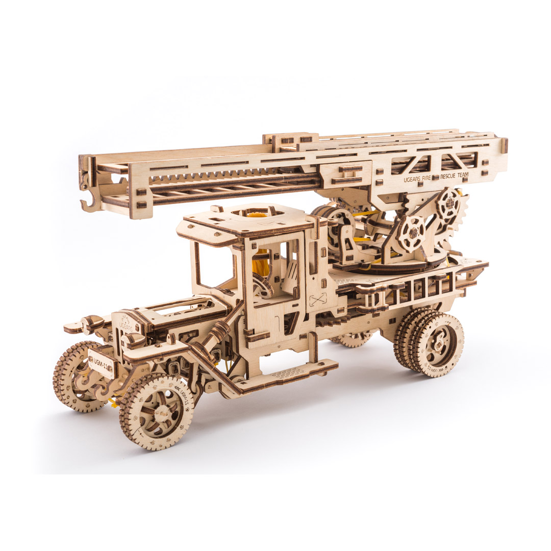 UGEARS:  FIRE LADDER TRUCK