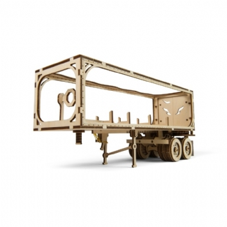 UGEARS:  HEAVY BOY TRUCK TRAILER